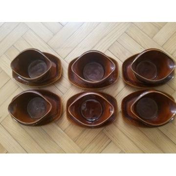 Bulionówki ceramiczne Pruszków szt. 6