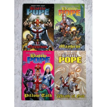Battle Pope 1-4 (komplet) Robert Kirkman