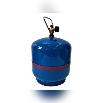 Butla gazowa 3kg Z GAZEM Legalizacja 10 lat