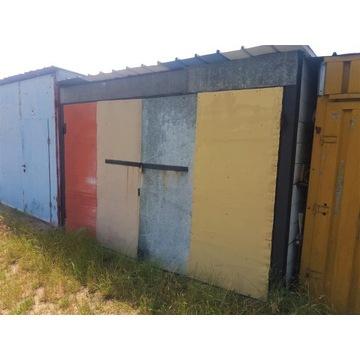Garaż blaszany duży , demontowalny