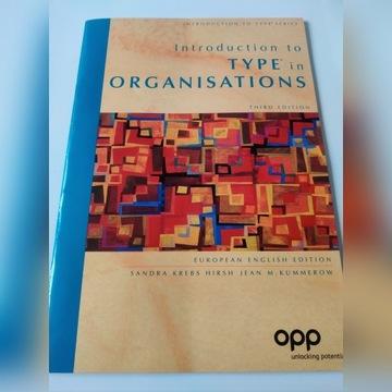Ksiazka Introduction to Type of Organisations