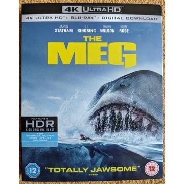 """""""The Meg"""" [4K UHD Blu-Ray][PL][folia]"""
