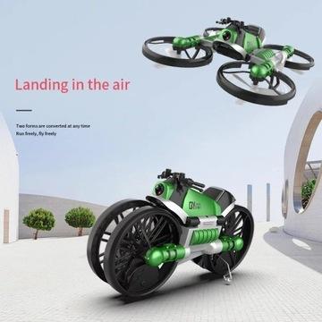 Sterowany dłonią dron zmieniający się w motor