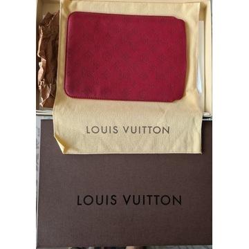 Etui ze skory, marki Louis Vuitton, jak novy