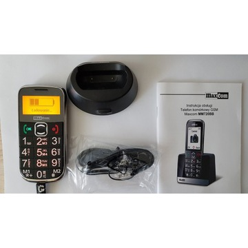 MAXcom MM720BB Gsm 900/1800 / niesprawna bateria