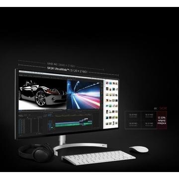 Okazja ! LG-34WK95U-W Nano IPS 5K 10 bit