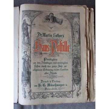 DR. MARTIN LUTHER -HAUS POSTILLE (POSTYLLA DOMOWA)