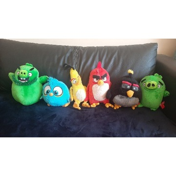 Maskotki z kolekcji Angry Birds