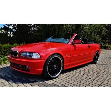 BMW E46 SERIA 3 CABRIO 330 CI  231KM MANUAL