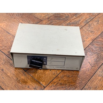 przełącznik LPT  RS232 COM data transfer switch