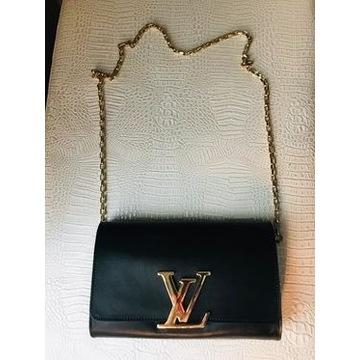 Louis Vuitton M41279  torebka damska ,czarna ,skor