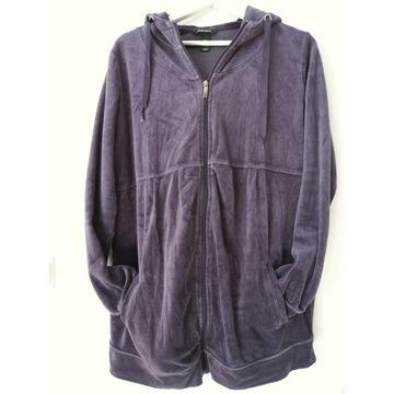 H&M Mama śliczna i wygodna bluza welurowa rozm XL