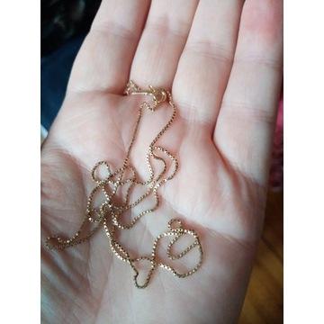 Złoty łańcuszek 585 2.18g 53cm