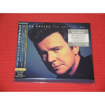 RICK ASTLEY The Best Of Me JAPAN 2 x CD OBI Bonus