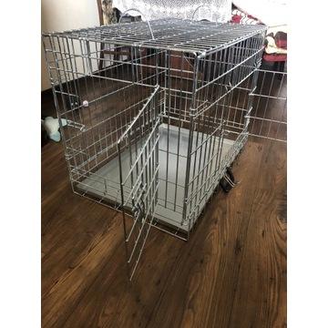 Klatka metalowa dla psa + maty higieniczne gratis