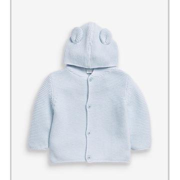 Next Sweterek Kardigan Dzianina 9-12 mcy