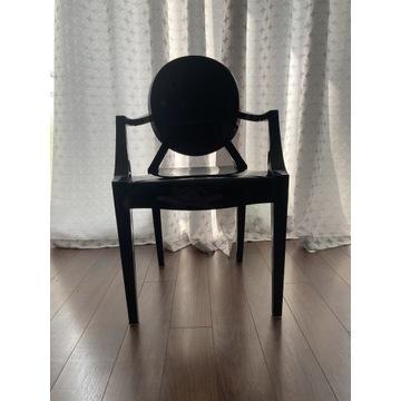 Komplet 6 Krzeseł poliwęglan glamour