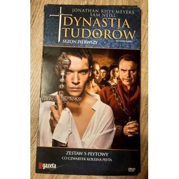 Dynastia Tudorów sezon 1 DVD