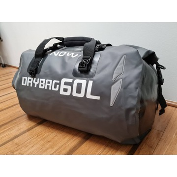 Torba wodoodporna 60L - drybag, na trudne warunki