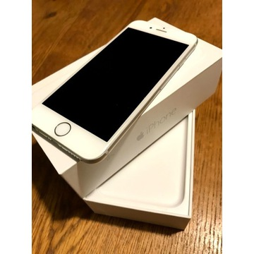 Apple iPhone 6, 16GB, Silver, stan bdb, bez blokad