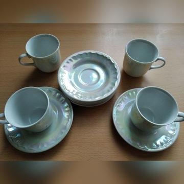 Oryginalny komplet, zestaw kawowy - filiżanki
