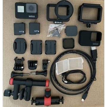 GoPro Hero Black 7 Puluz Joby filtr polaryzacyjny