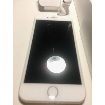 iPhone 7 128 GB oryginalny srebrny + słuchawki