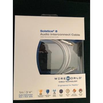 Wireworld Solstice 8 Interkonekt RCA 1m.