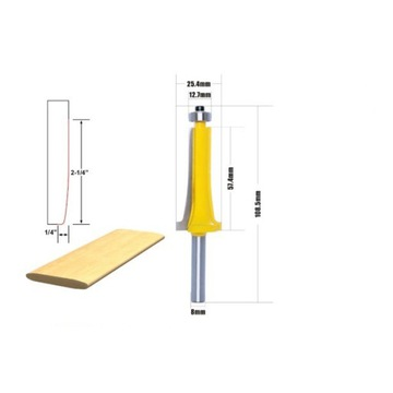 frez do drewna, 8 mm trzpień, wysyłka 24h