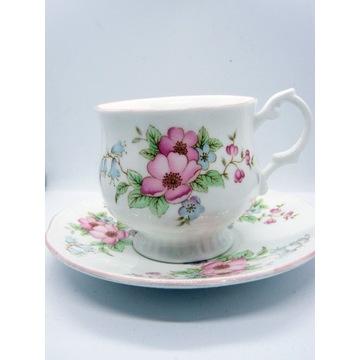 Porcelana Vintage Royal Devon dzikie róże