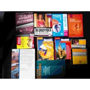 Język rosyjski zestaw słownik pomoce 10 książek