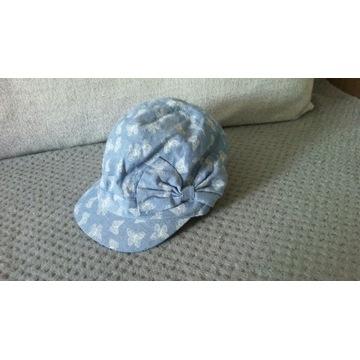 Śliczna czapka/czapeczka z daszkiem H&M rozm. 74