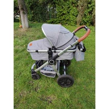 Wózek 2w1 KinderKraft Veo Gray
