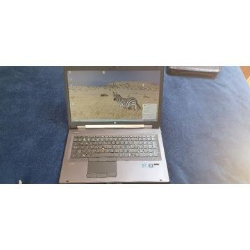 Laptop Elitebook HP 8760W 17 ATI INTEL BCM!