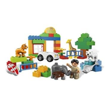 -= LEGO DUPLO 6136 + 10801- MOJE PIERWSZE ZOO =-