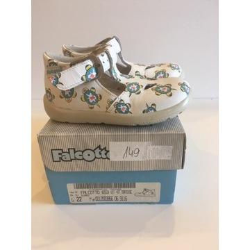 Sandały zabudowane nowe Falcotto  naturino 22