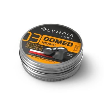 Olympia Shot Domed  Heavy 500 szt. 0,547 g