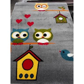 Dywan Dziecięcy Kolibri 120x170 Sowy