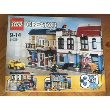 LEGO Creator 31026 Miasteczko Nowy zestaw! Unikat
