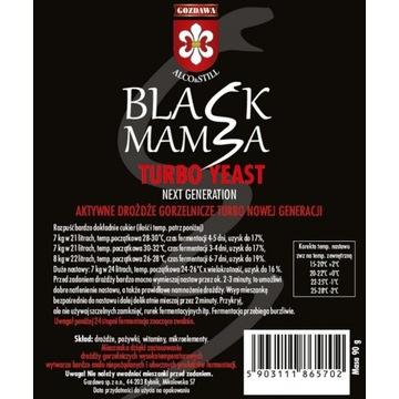 Drożdże gorzelnicze Black Mamba Turbo do wódek
