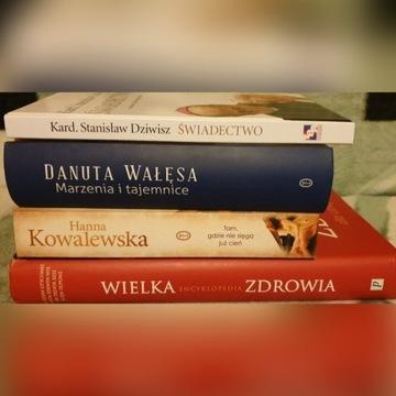 Książki różne.