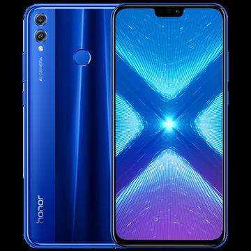 Honor 8X niebieski