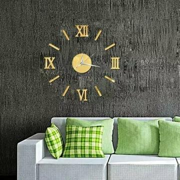 Zegar ścienny 3D Rozmiar:Średnica O: 40-60cm