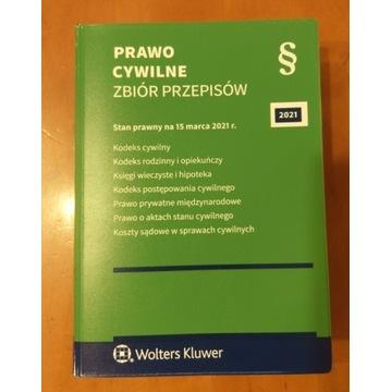 Prawo cywilne ZBIÓR PRZEPISÓW 2021 Wolters Kluwer
