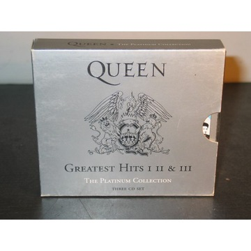 Queen Greatest Hits 1 2 & 3: Platinum Collection