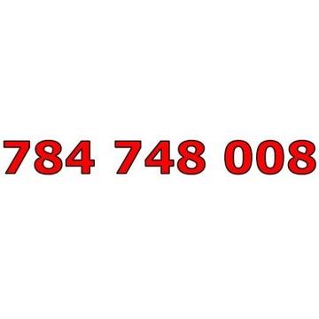 784 748 008 T-MOBILE ŁATWY ZŁOTY NUMER STARTER