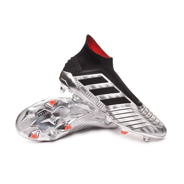 Adidas Predator 19+ FG/AG. Silver Metallic. 42 2/3