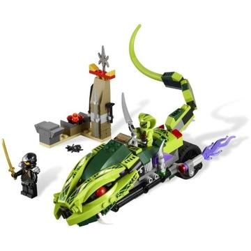LEGO Ninjago Gryzowóz Lashy 9447