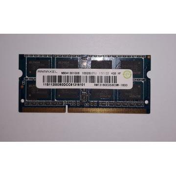 Pamięć ram Ramaxel ddr3 1600MHz 4GB