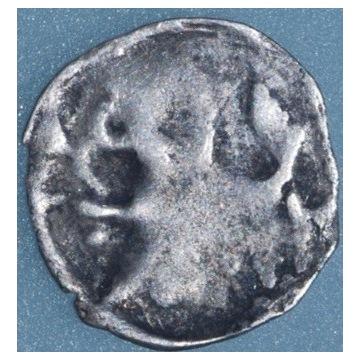 Pomorze, denar z gryfem XIV-XV wiek